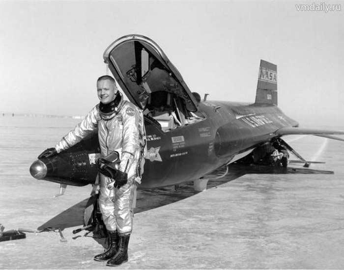 Нил Армстронг, Ракетоплане North American X-15