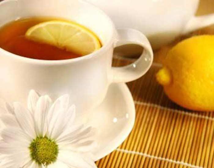 Чай из лимона