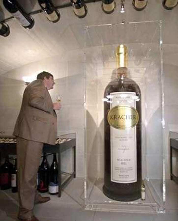 Самая большая емкость для вина