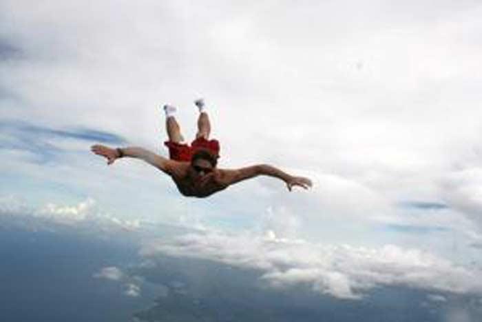Прыгнул без парашюта