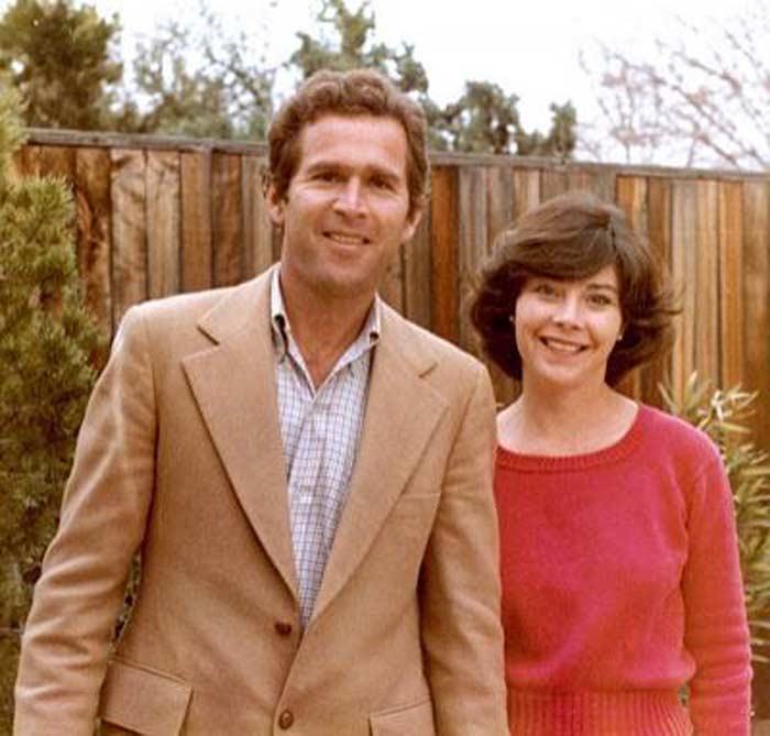 Джордж Буш и Лора Уэлч