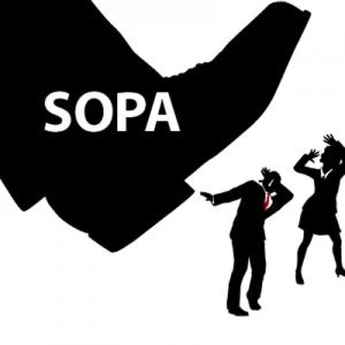 Законопроект SOPA
