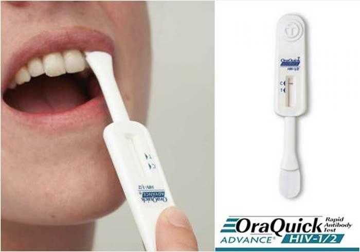 Домашний ВИЧ-тест OraQuick