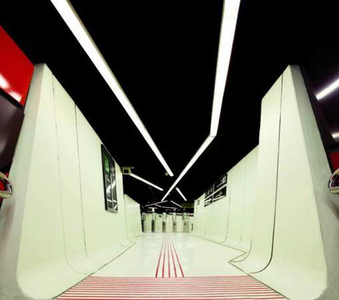 Станция метро «Drassanes Station», Барселона