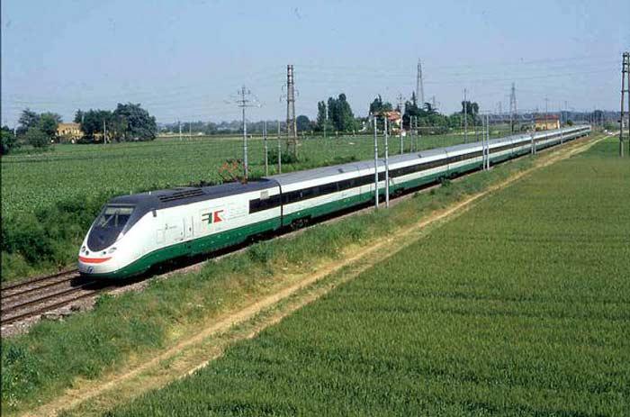 Поезд ETR-500, Италия, 300 км/ч