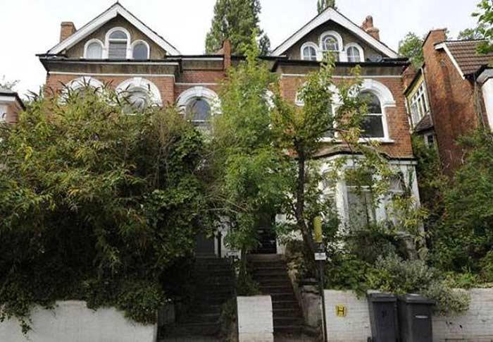 Дом, в котором жили участники группы Pink Floyd