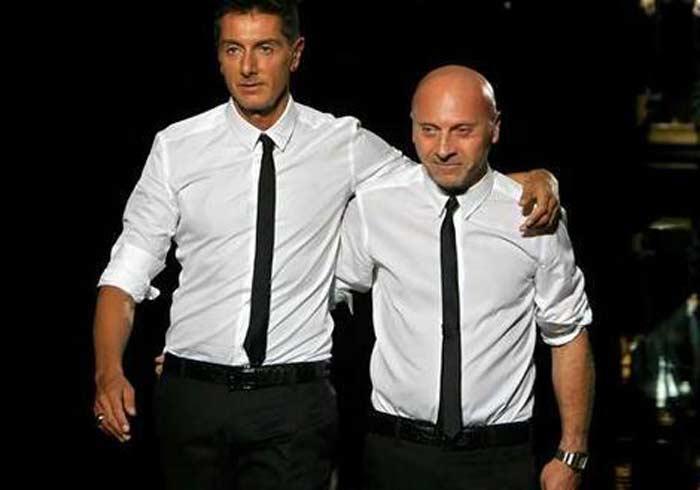 Доменико Дольче и Стефано Габбана
