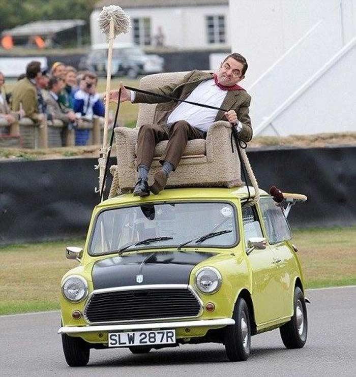 British Leyland Mini 1000 от Мистера Бина
