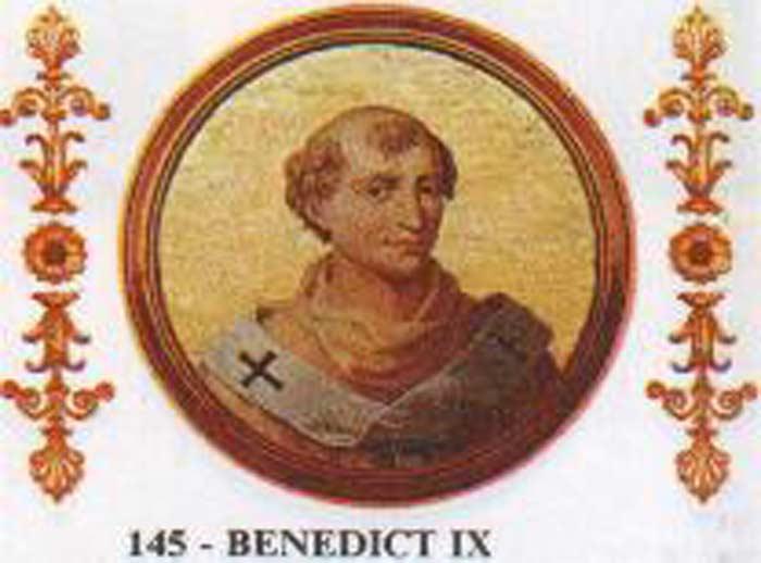 Папа Римский Бенедикт IX