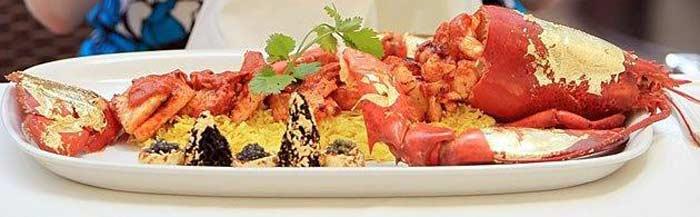 Карри с морепродуктами «Samundari Khazana»