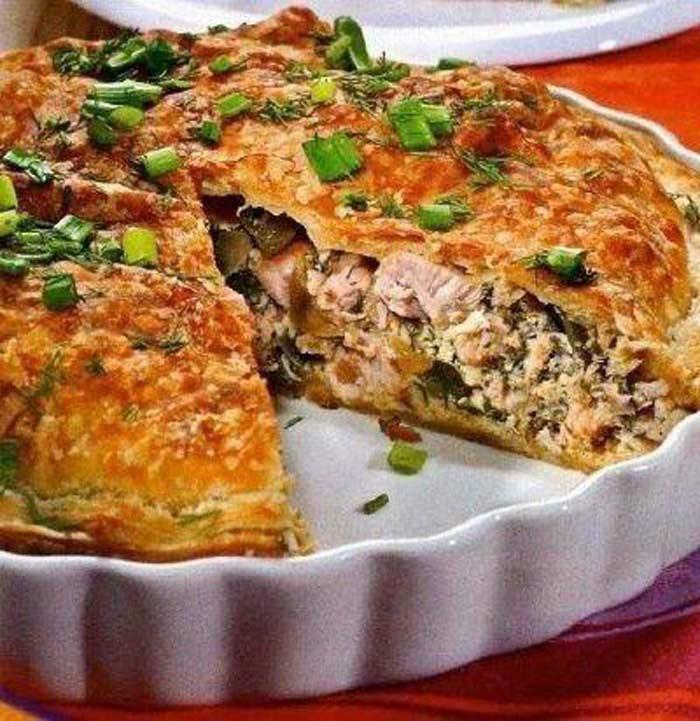 Мясной пирог «Wagye»