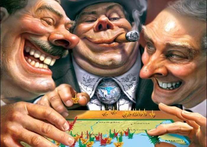 Теория заговора Мировое правительство