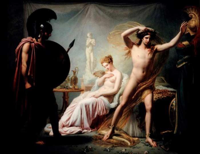 Елена Троянская и Парис