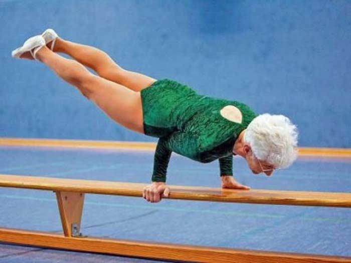 Самая старая спортсменка