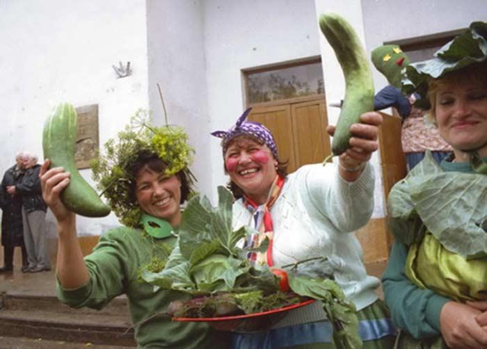 Истобенск, день огурца