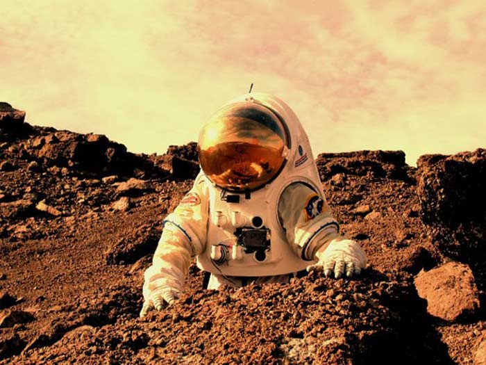 Гравитация на Марсе