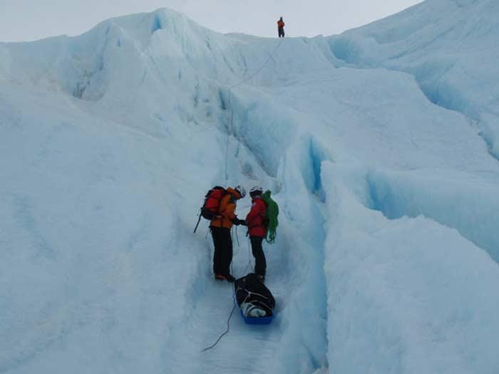 Бнар Гриллс в Антарктиде