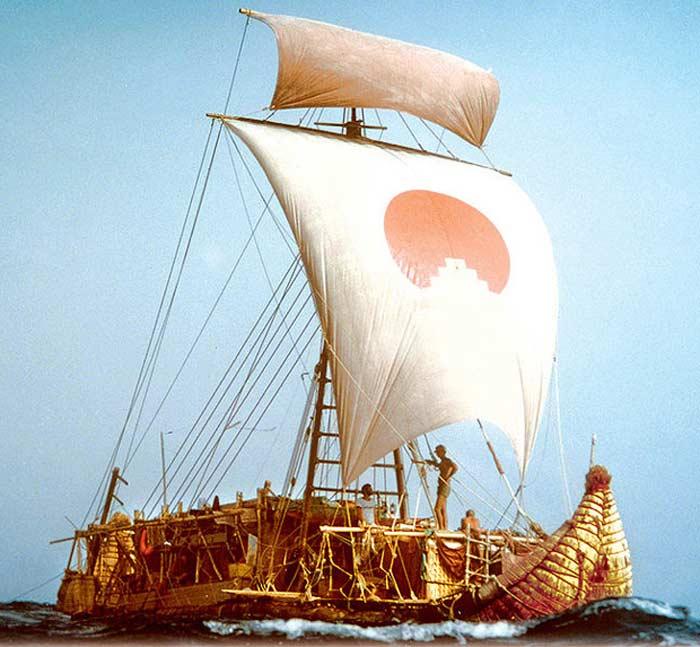 Путешествие на лодке «Тигрис»