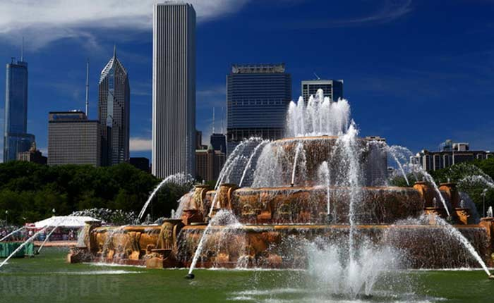 Букингемский фонтан, Чикаго (США)
