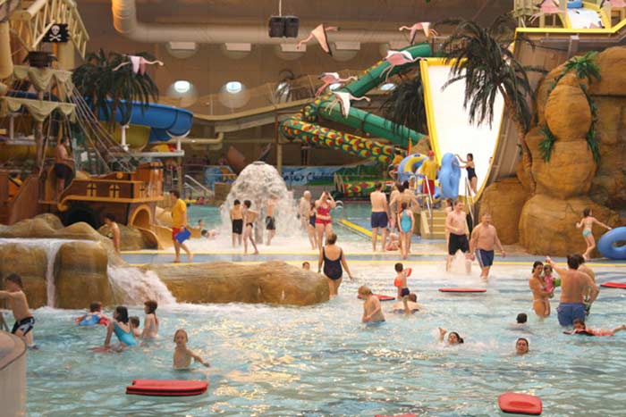 Sandcastle Water Park (Блэкпул, Англия)