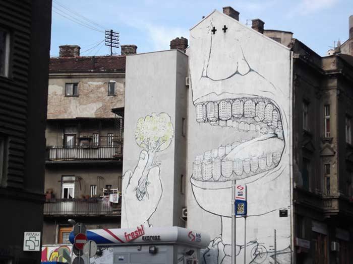 Граффити Белграда  Город