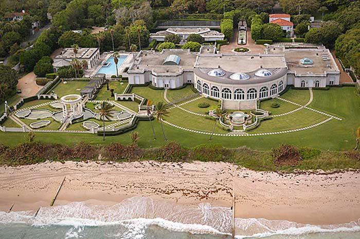Maison De L' Amitie , Палм-Бич , Флорида $41,4 млн.