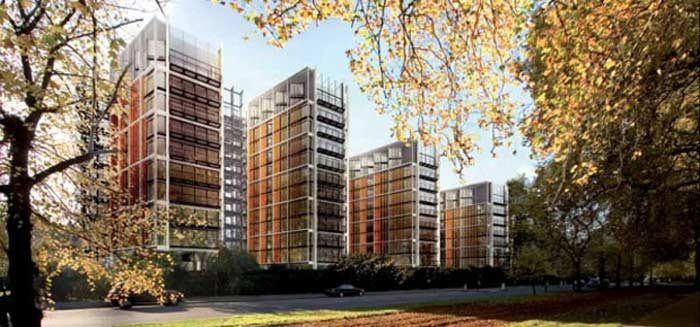 One Hyde Park , Лондон, Англия $ 11 млн. (квартира)