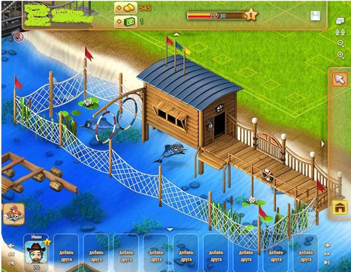 «Территория фермеров» - игра в одноклассниках