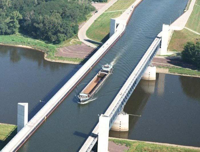 мост Магдебурга (Германия)