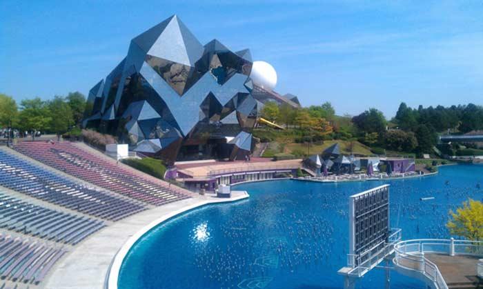 Подвижная видеостена - Европейский парк «Футуроскоп» (Франция)