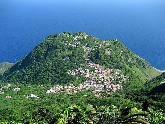 Остров Саба,  Малые Антильские острова