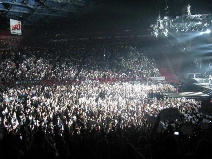 Концерт Tokio Hotel, 2010 год