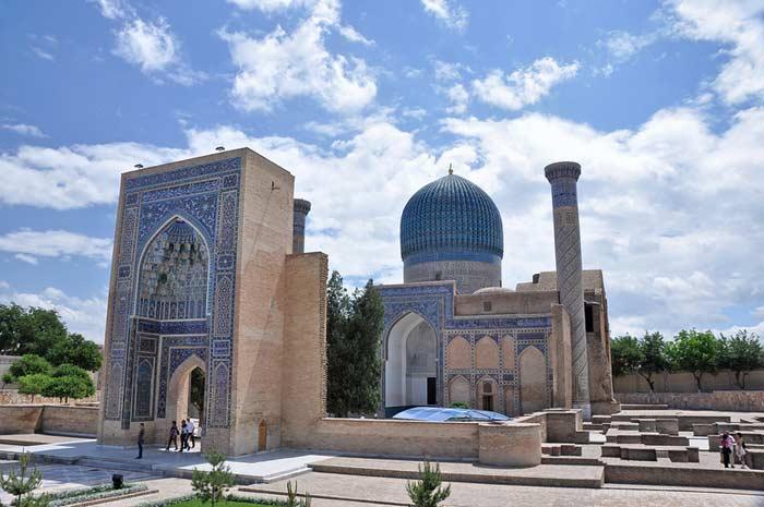 Гур-Эмир или «Гробница эмира». Самарканд