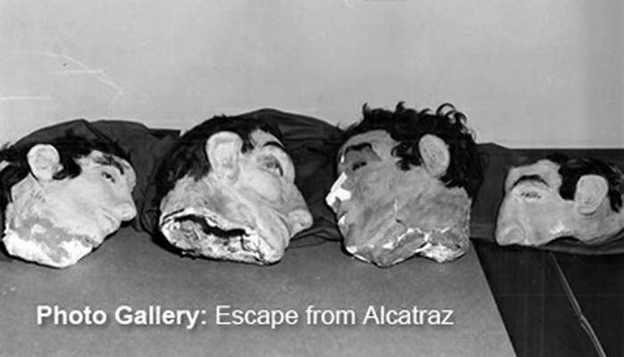 Самодельные головы и побег из Алькатраса