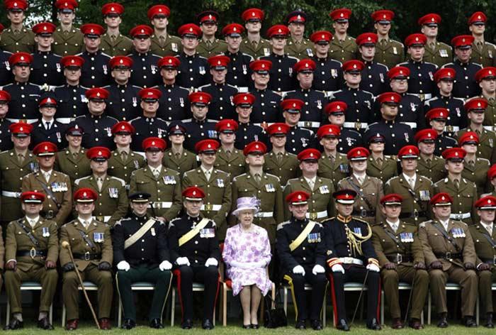 Армия Англии