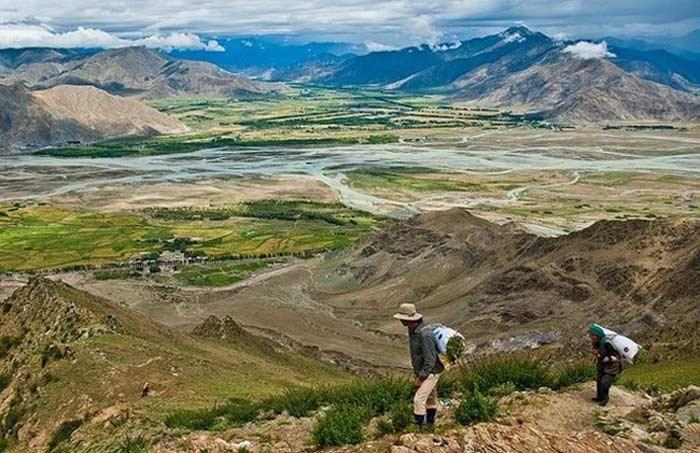 Каньон Цангпо. Тибет