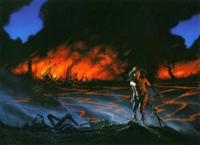 «Воспламеняющая взглядом». 1980 год