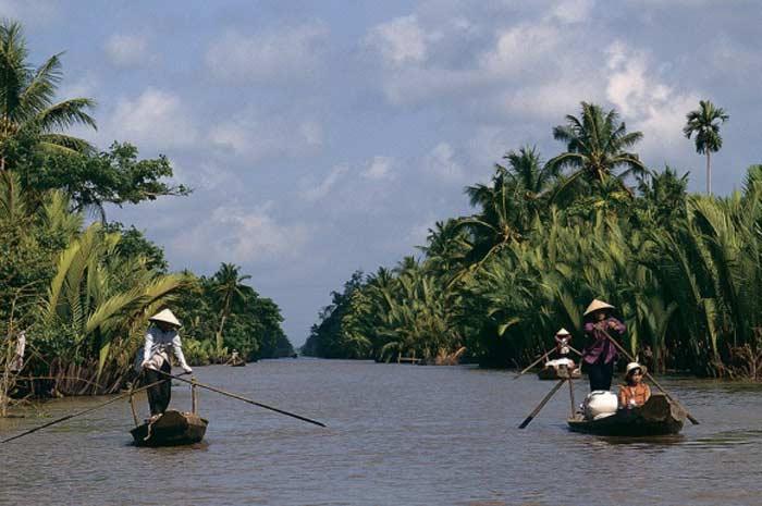 Самый большой сом. На реке Меконг