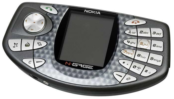 Топ 10 самых высокотехнологичных провалов. Nokia N-Gage
