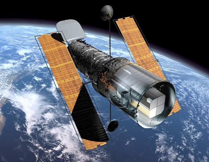 Топ 10 самых высокотехнологичных провалов.Космический телескоп Hubble