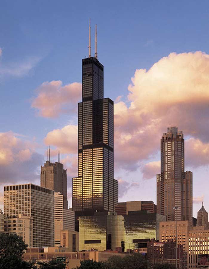 Самые высокие небоскребы. Willis Tower