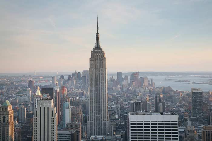 Самые высокие небоскребы. Empire State Building