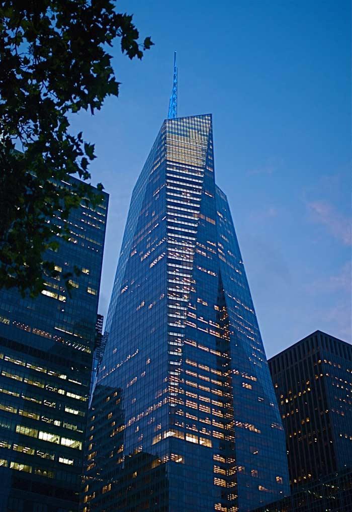 Самые высокие небоскребы. Bank of America Tower