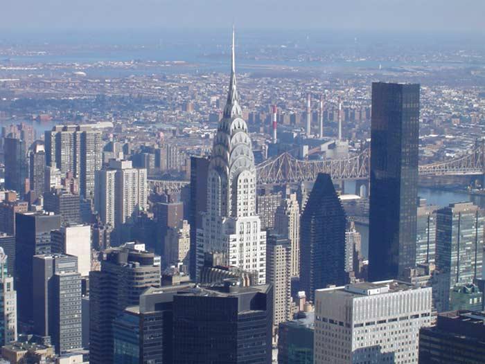 Самые высокие небоскребы. Chrysler Building