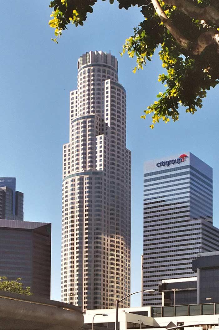 Самые высокие небоскребы. US Bank Tower