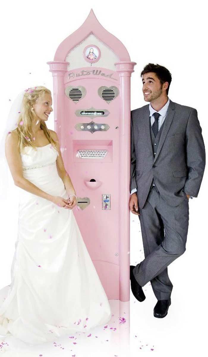Самые странные автоматы. Свадьба: быстро и недорого