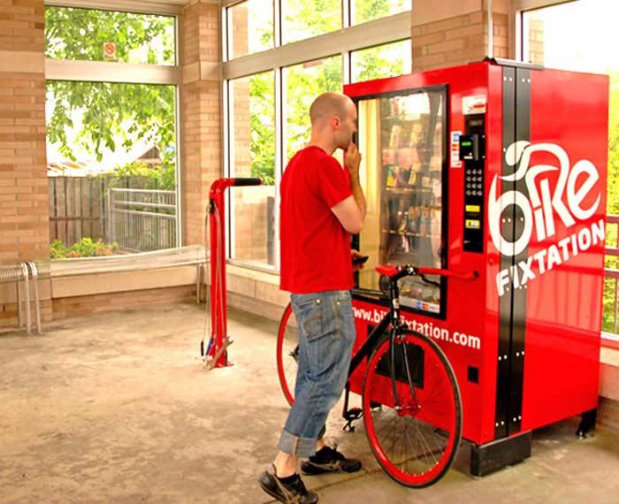 Самые странные автоматы. Детали для велосипеда