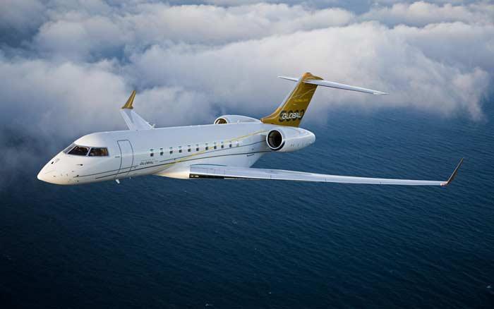 Самые маленькие самолеты. Самолет Global 5000