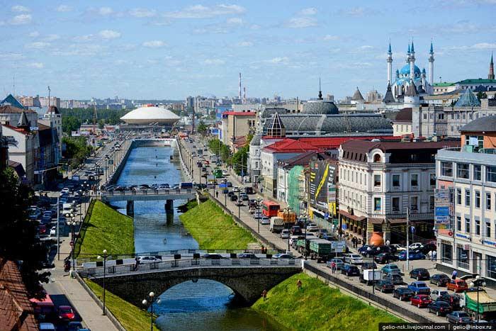 Самые большие города России. Казань