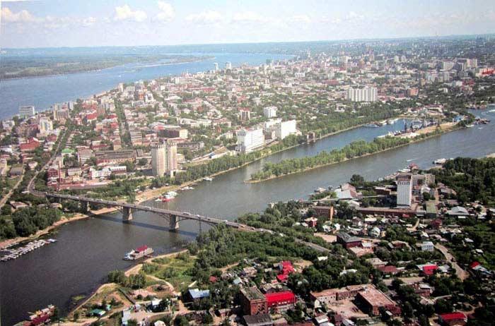 Самые большие города России. Самара